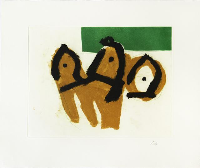 Robert Motherwell, 'Sirens II', 1988, Jim Kempner Fine Art