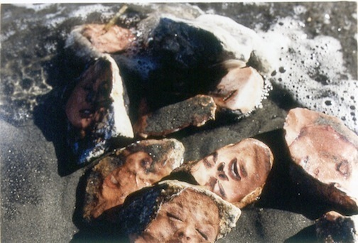 , 'Untitled, Dialectical Porn Rock (Faces in the Foam),' 1989-1993, MARTOS GALLERY