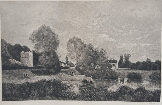 Charles Giroux, After Jean-Baptiste Camille Corot | L'Etang a Ville d'Array  (1883) | Available for Sale | Artsy