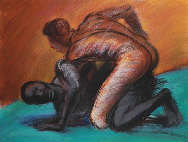 , 'The Struggle of Mankind,' 1989, Robert Berman Gallery