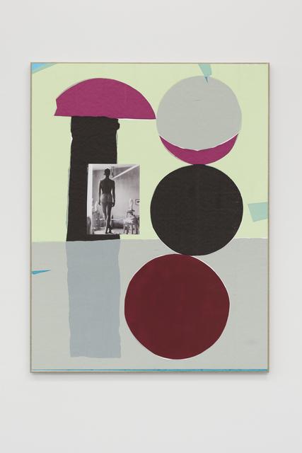 , 'Reverse Thrust (Still Standing),' 2017, Galerie Mehdi Chouakri