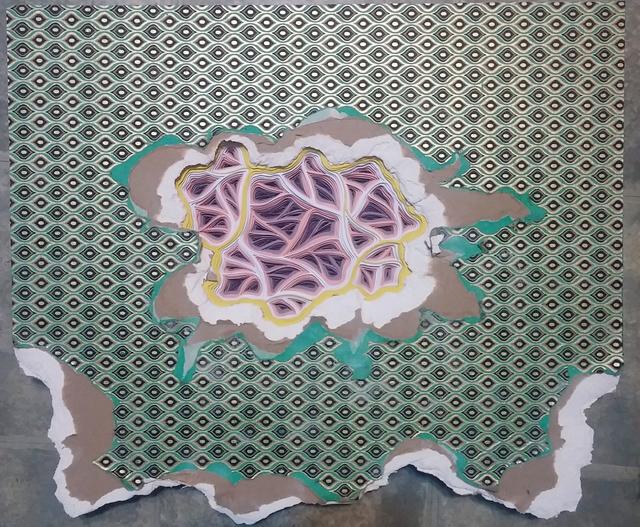 , 'Filamentous Flam-a-Necrosis Movement #2,' 2017, Galerie C.O.A