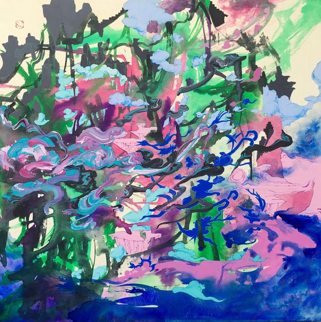 Jiha Moon, 'The Winds', 2007, Painting, Ink and acrylic on Hanji paper mounted on canvas, Toshkova Fine Art Advisory