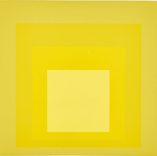 Josef Albers, 'Homage to the Square: MMA-I', 1970, Rago