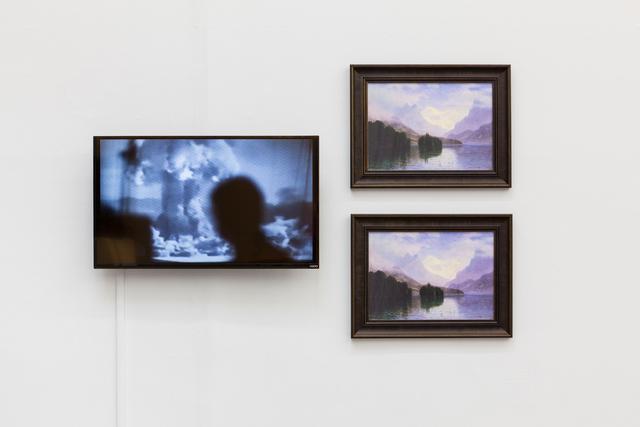 , 'Grasshopper (Mountain Scene),' 2015-2016, Swiss Institute