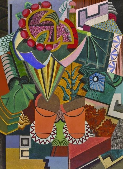 , 'Nature morte aux pots de fleurs,' 1918, Waterhouse & Dodd