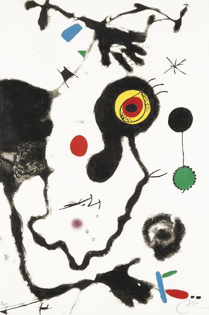Joan Miró, 'Barcelona', 1972-1973, Masterworks Fine Art