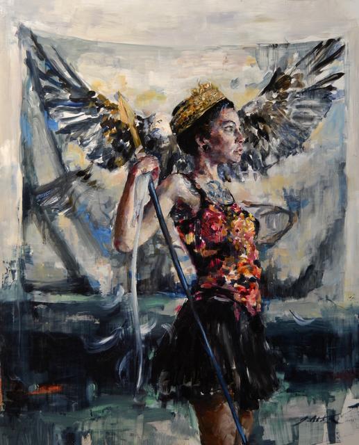 , 'Haljoruna, Triumphant,' 2017, Abend Gallery