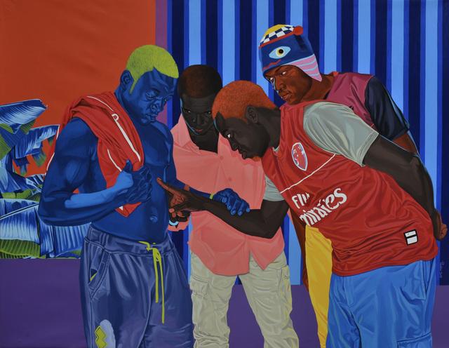 , 'The Blue man of Njombé,' 2019, Jack Bell Gallery