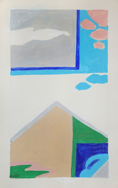 , 'Untitled (House and Clouds),' 1981, Hollis Taggart Galleries