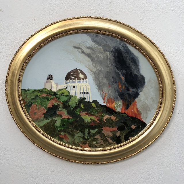 , 'Griffith Observatory Wildfire,' , bG Gallery