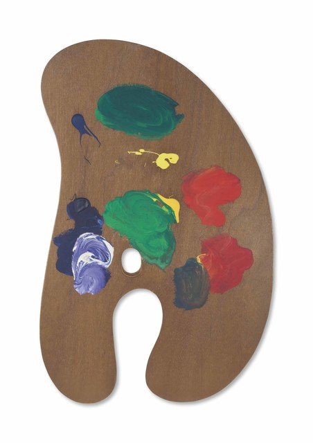 Jim Dine, 'Palette I, from Four Palettes', 1969, Print, Painted wood multiple, mounted to board, Christie's