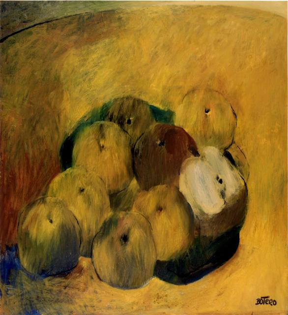 Fernando Botero, 'Apples ', 1961, Galería Duque Arango