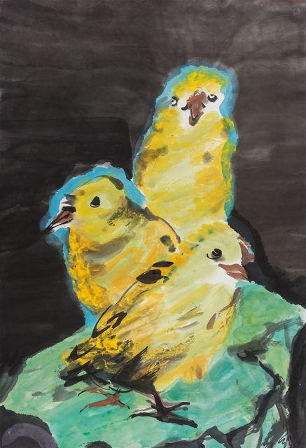 , '三黄鸡 Chickens,' 2016-2017, Aye Gallery