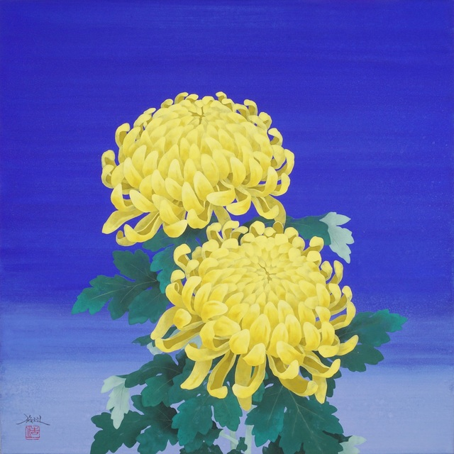 , 'Large chrysanthemum flowers,' 2018, SEIZAN Gallery