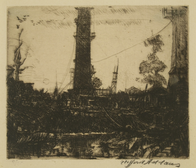 Clifford Isaac Addams, 'The Tower', Private Collection, NY