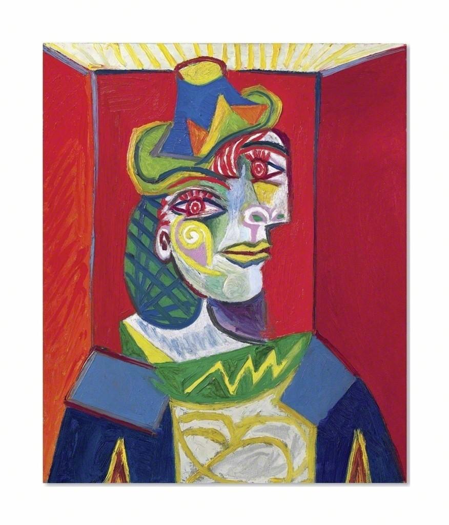 Pablo Picasso | Buste de femme (Femme à la résille) (1938) | Artsy