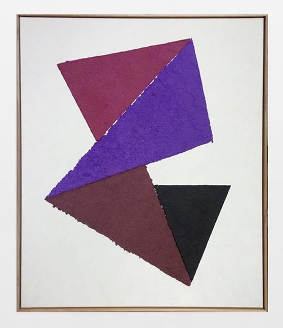 Katja Strunz, 'Relevation', 2019, Painting, Pulp painting, Krobath