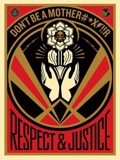 Shepard Fairey, 'Don't be a MFR', 2015, Rudolf Budja Gallery