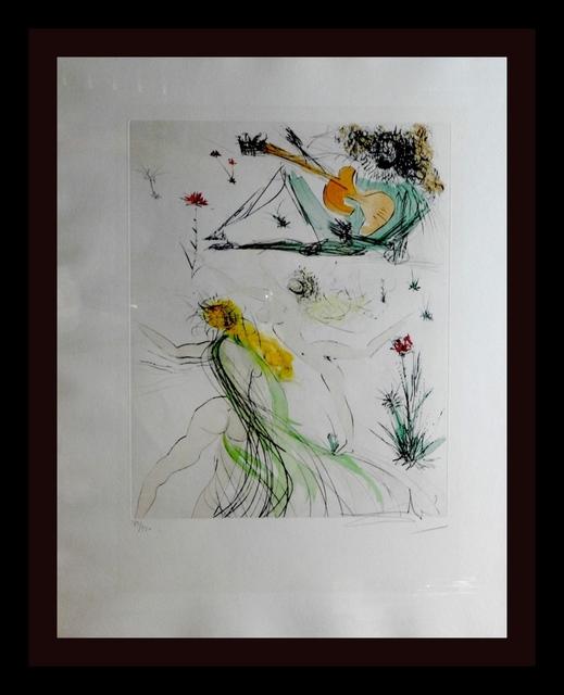 Salvador Dalí, 'La Joie de Vivre', 1971, Print, Etching, Fine Art Acquisitions Dali