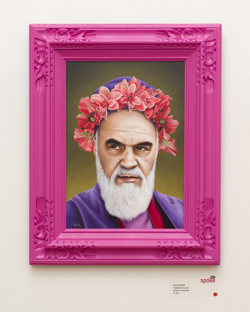 , 'Ayatollah of Love,' 2013, Spoke Art