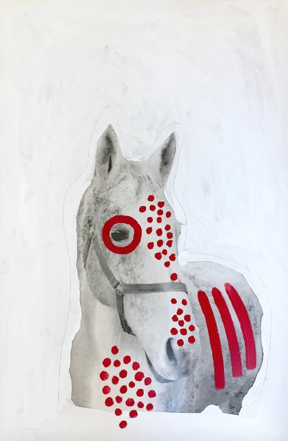 , 'Decorations for War Horses #1,' 2018, MATÈRIA