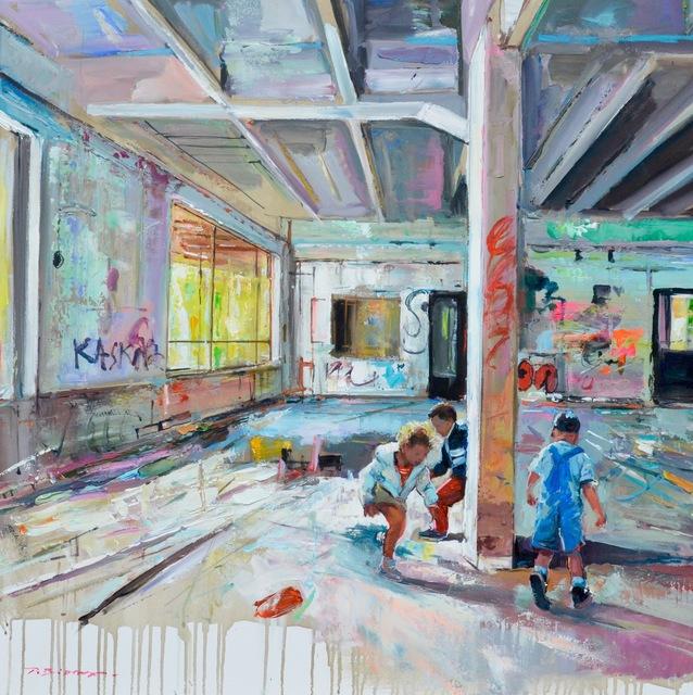 , 'Jeux D 'Enfants,' 2018, Isabella Garrucho Fine Art