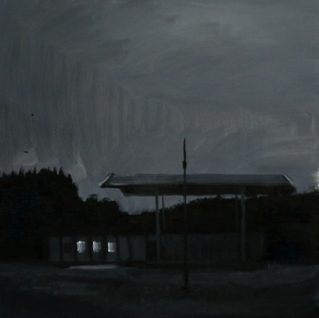 Gytis Arošius, 'Gas station', 2019, Painting, Oil on canvas, Galerija VARTAI