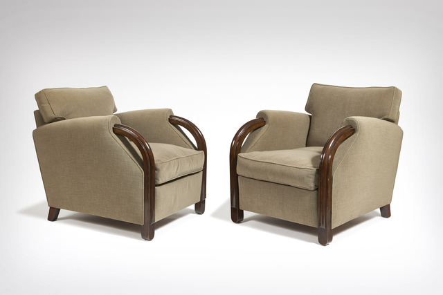 , 'Pair of armchairs,' ca. 1935, Galerie Marcilhac
