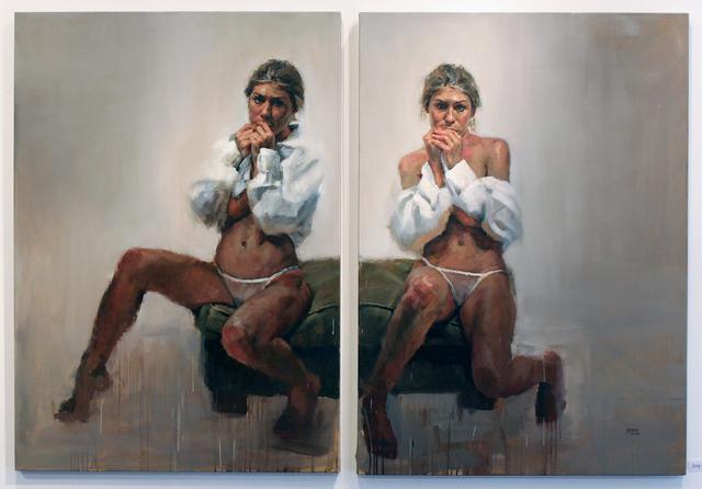 Jorg Dubin, 'Seated Twins', 2005, Robert Berman Gallery