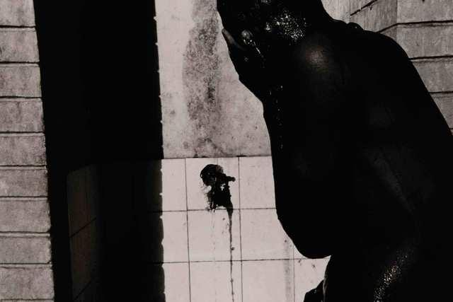 Hitoshi Fugo, 'BLACKOUT #56', 1980-printed 2004, Photography, Gelatin silver print, MIYAKO YOSHINAGA