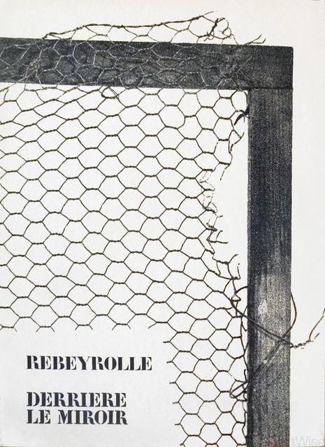 Paul Rebeyrolle, 'Rebeyrolle Derriere le Miroir, no. 202', 1973, ArtWise