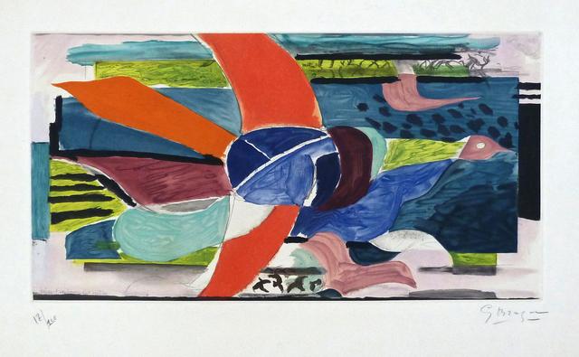 , 'Multicolour Bird | Oiseau Multicolore,' 1950, Gilden's Art Gallery