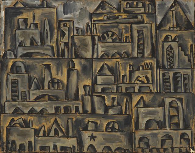 , 'Paisaje urbano en gris,' 1945 , Cecilia de Torres, Ltd.