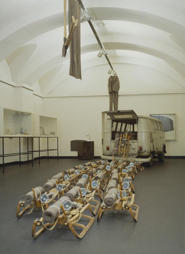 Joseph Beuys, 'The Pack (das Rudel),' 1969, ARS/Art Resource