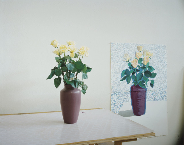 David Hockney, 'Roses for Mother', 1995, Christie's