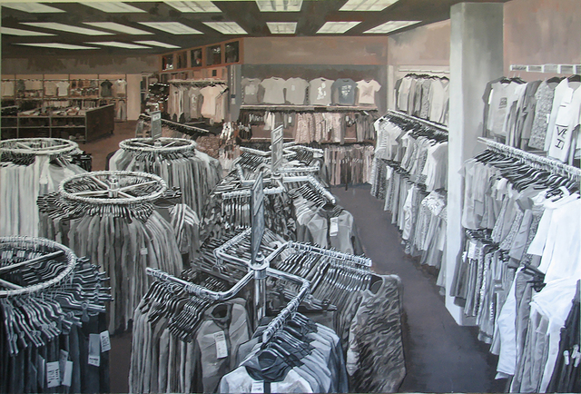 , 'Network (store with clothes),' 2014, P74 Gallery