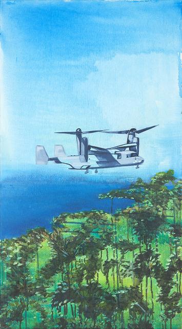 , 'Osprey, Futenma Marine Corps Base, Ginowan, Okinawa, Japan,' 2019, FLXST Contemporary