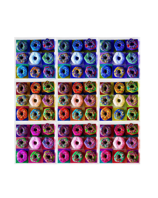 , 'Donut Grid,' 2018, Foto Relevance