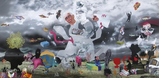 , 'Redrawing The Map,' 2012, Art Musings