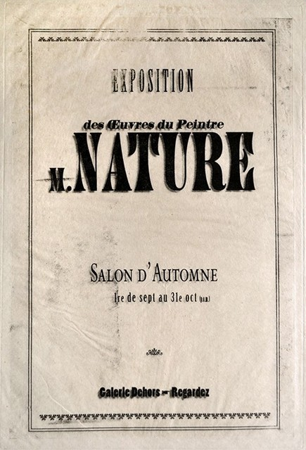 , 'Salon d'Automne (Nature) ,' ca. 2016, The Schoolhouse Gallery