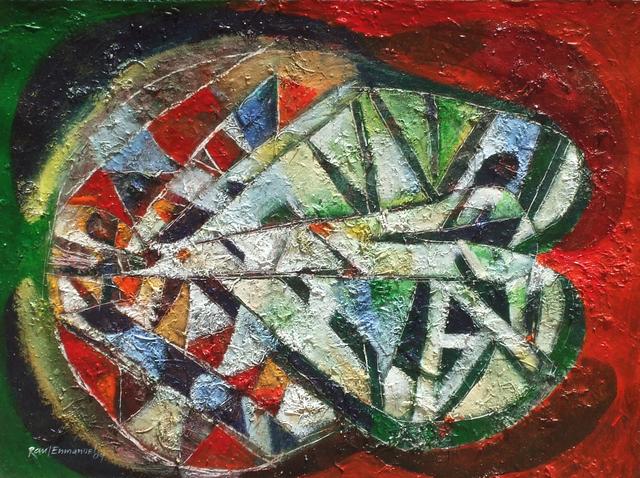 Raul Pozo Enmanuel, 'Mascara con textura vegetal', 2009, MLA Gallery