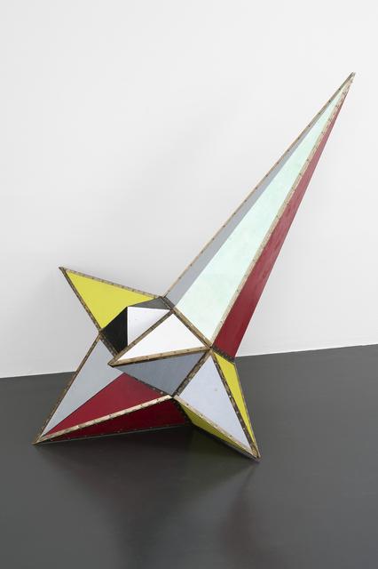 , 'Komet maquette,' 2016, Galerie Laurence Bernard