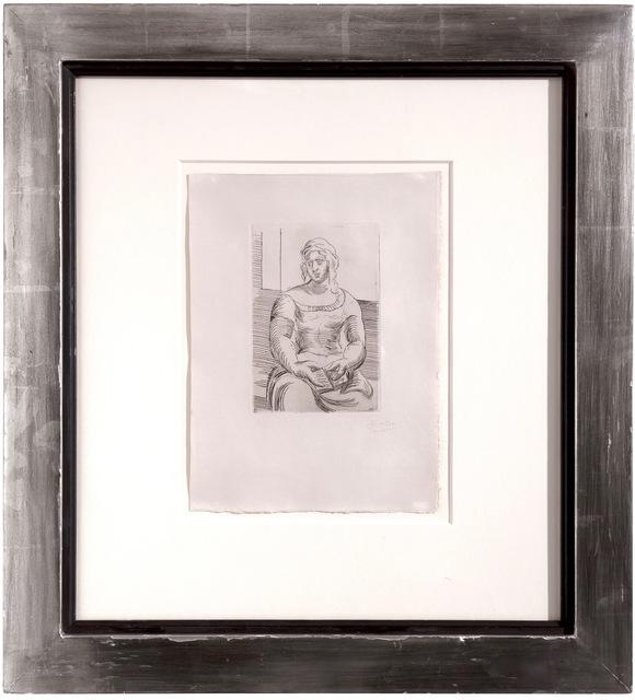 Pablo Picasso, 'Le Italienne avec livre,', 1919, Dellasposa
