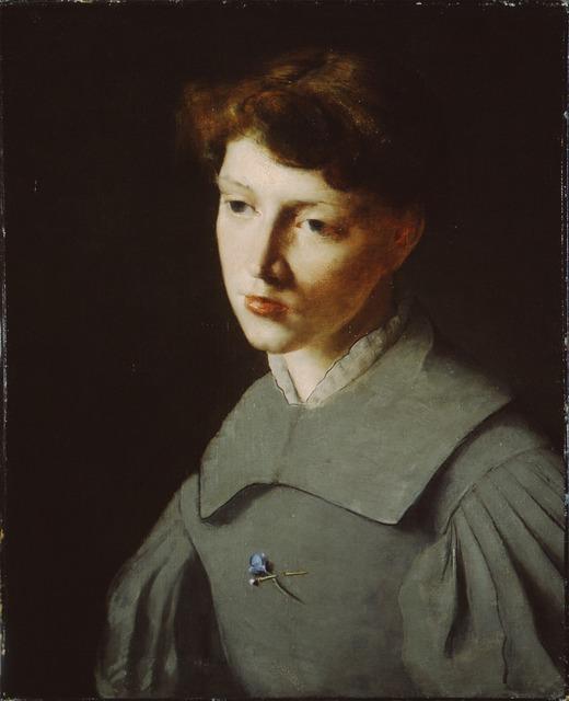 , 'The Violet,' 1885, Montclair Art Museum