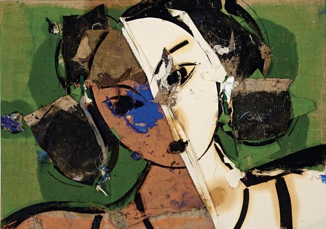 , 'Odalisque au visage blanc et orange,' 2009, Opera Gallery