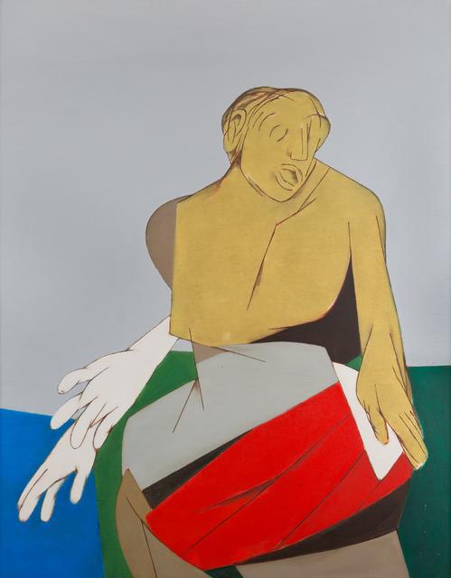 Tyeb Mehta, 'Drummer', 1988, Museum of Art & Photography