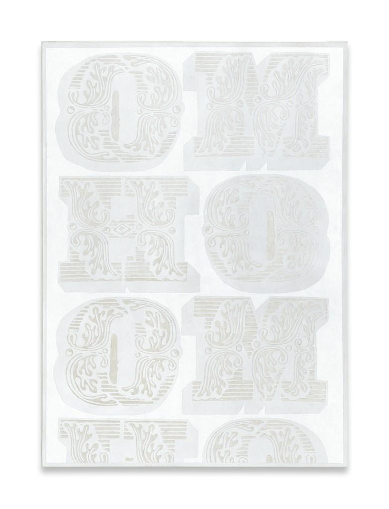 Megan Francis Sullivan, ''HOMO (white series) no. III,' 2013, Mathew
