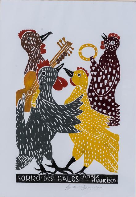 Amaro Francisco Borges, 'Forró dos galos', 1972-2016, Ligia Testa Espaço de Arte