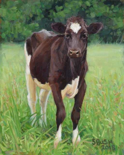 Stephanie Bush, 'Cow Study 42', 2019, West Branch Gallery